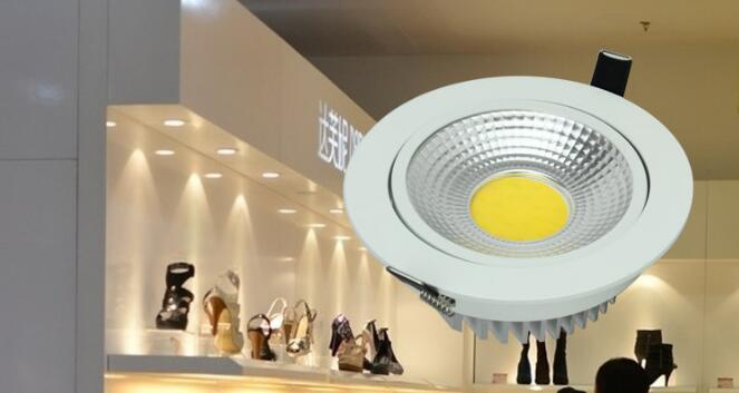 12 Degree Cree COB LED Lens Round / Hexagonal Shaped For Desired Lighting Effect