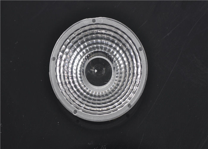 Clear Glass COB LED Lens High Transmittance 93% For 10W - 200W LED Lights