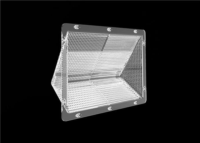 PC LED Lens SMD 3030 Transparent LED Light Lens 300mm WallPack Cover